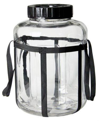 4.5 Gallon Glass Jar with Strap