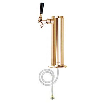 Draft Beer Tower Brass