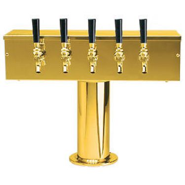 T Style 5 Faucet Brass