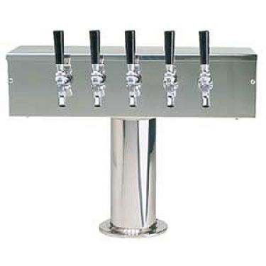 T Style 5 Faucet Stainless Steel