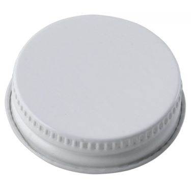 BSG 6466 - White Metal Screw Cap