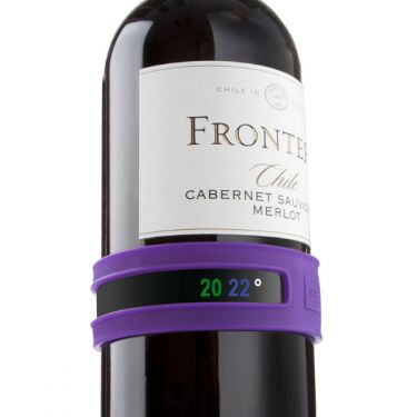 Snap Wine Thermometer Purple