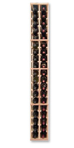Photo of Designer Series Inidividual 2-Column Individual Bottle Wine Rack