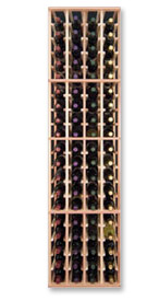Photo of Designer Series Inidividual 4-Column Individual Bottle Wine Rack