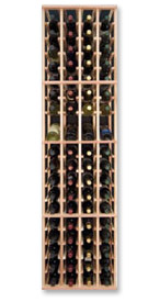 Photo of Designer Series Inidividual 4-Column Individual Bottle Wine Rack with Display Row