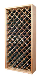 Photo of Designer Series Inidividual Bottle Diamond Bin Wine Rack.