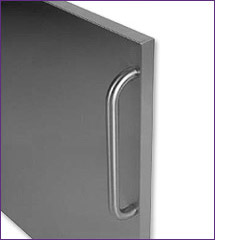 Wrapped Stainless Steel Door with 12-inch Pro Handle