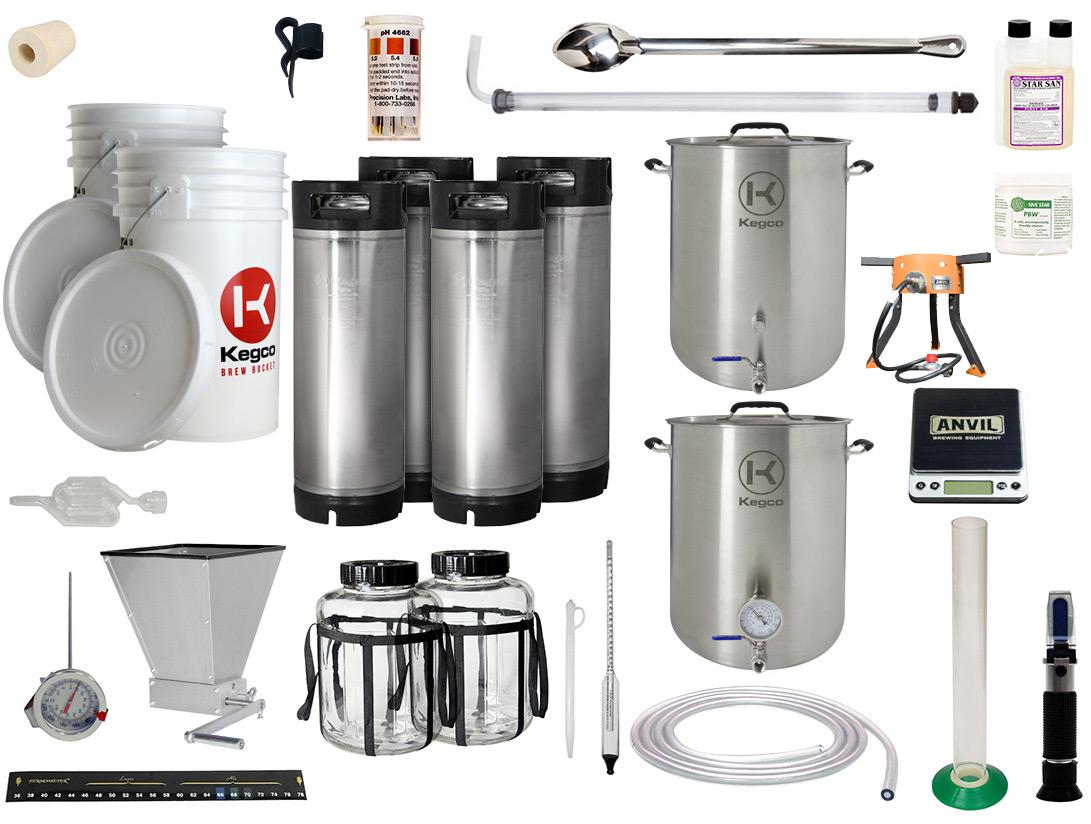 10 Gallon All Grain Home Brewing Kit | BeverageFactory.com