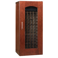 Le Cache Contemporary Series Model 1400 172-Bottle Wine Cellar in Classic Cherry Finish