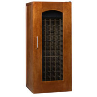 1400 Series 172 Bottle Wine Cellar - Provincial Cherry Finish