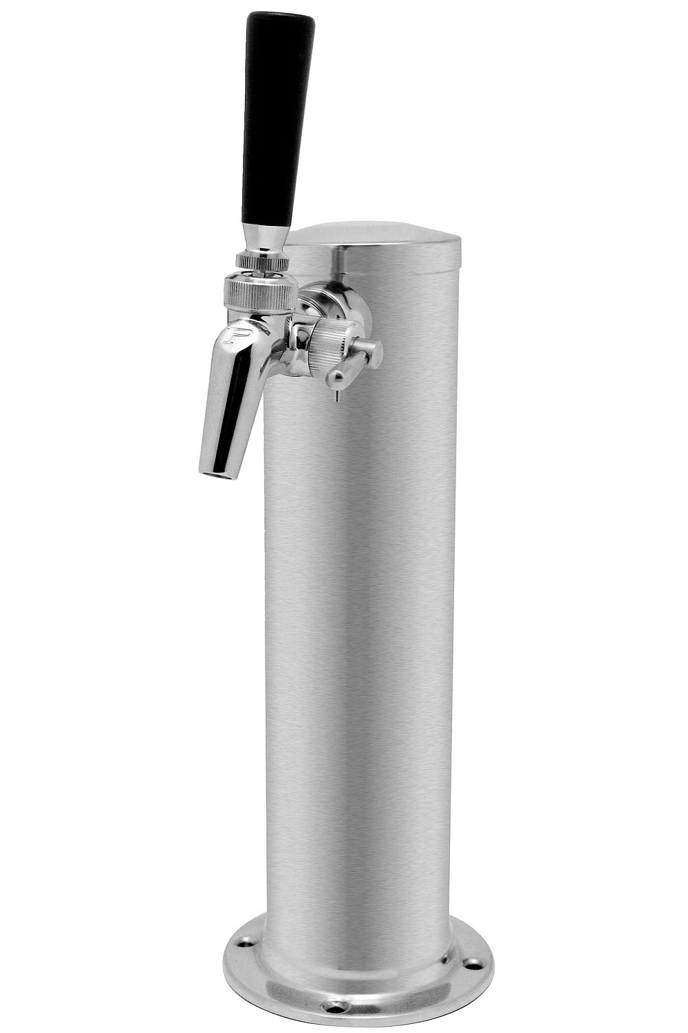 Kegco 1ft650ss Brush Single Faucet Brushed Stainless Steel