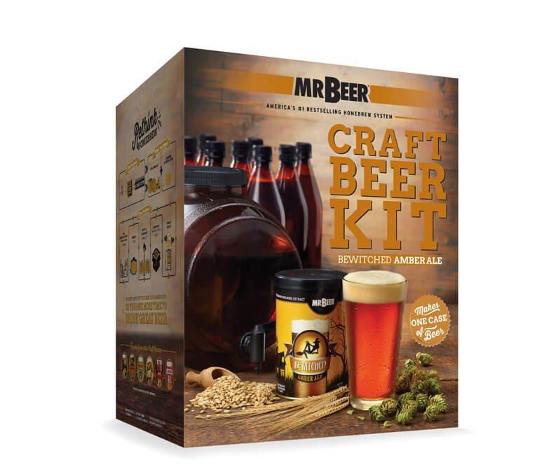 Mr Beer Bewitched Amber Ale Complete Kit Beveragefactory Com