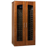 2400 Series 286 Bottle Wine Cellar - Provincial Cherry Finish