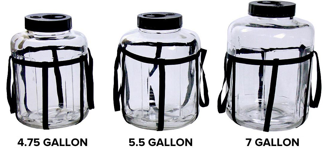 Available in 3 Sizes - 4.755, 5.5 and 7 Gallon