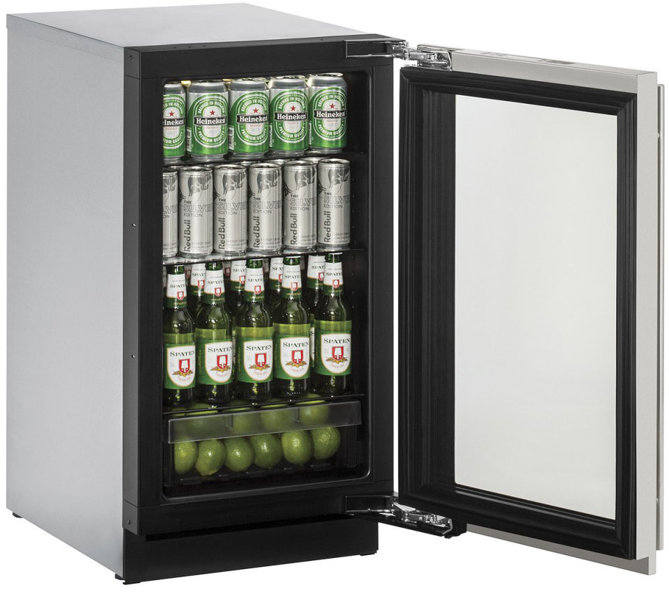 u line 3018rgls 13a full - Refridgerator Glass Door