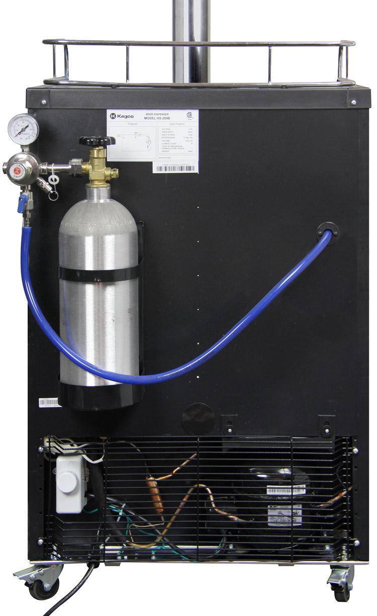 Kegco KOM30B-2 Dual Faucet Digital Kombucherators Kombucha ...