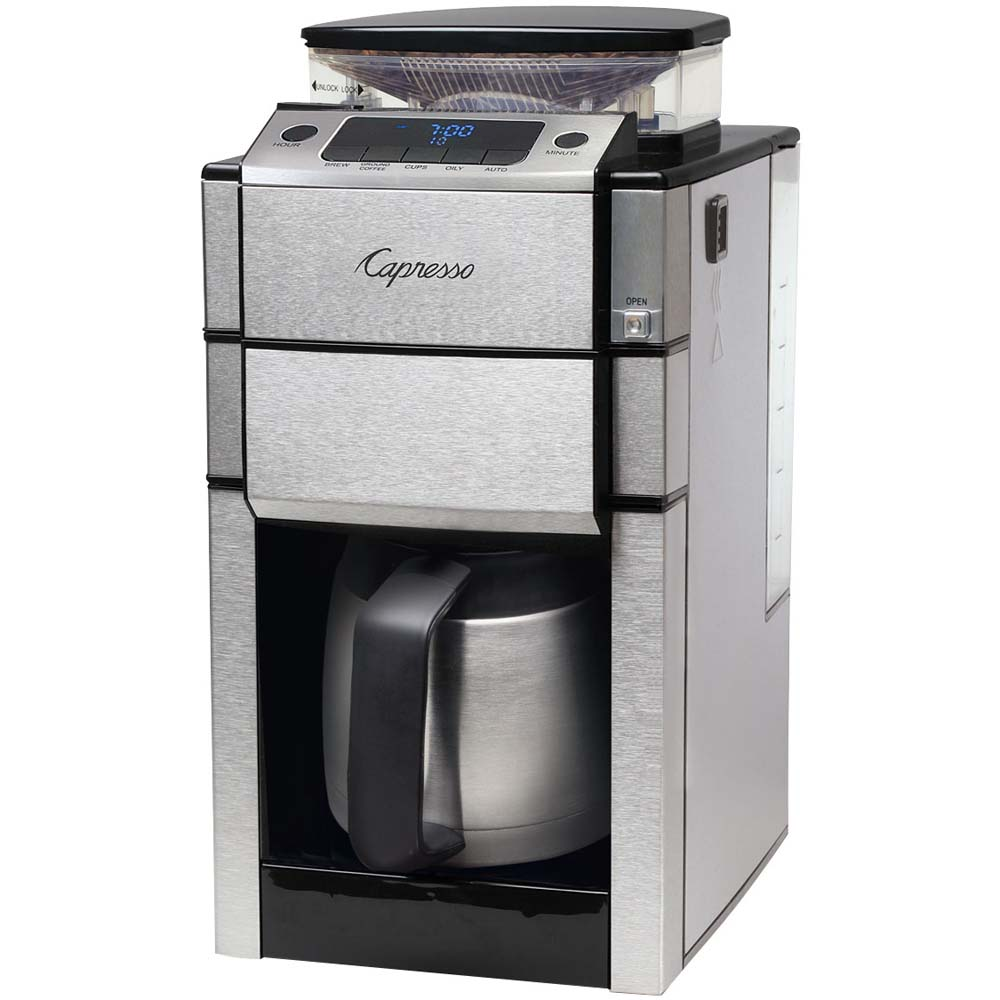 Capresso Grind And Brew Thermal Coffee Maker