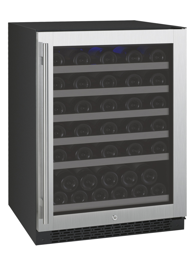 Allavino Vswr56 1ssrn Flexcount Series 56 Bottle Single Zone Wine Refrigerator With Right Hinge Beveragefactory Com