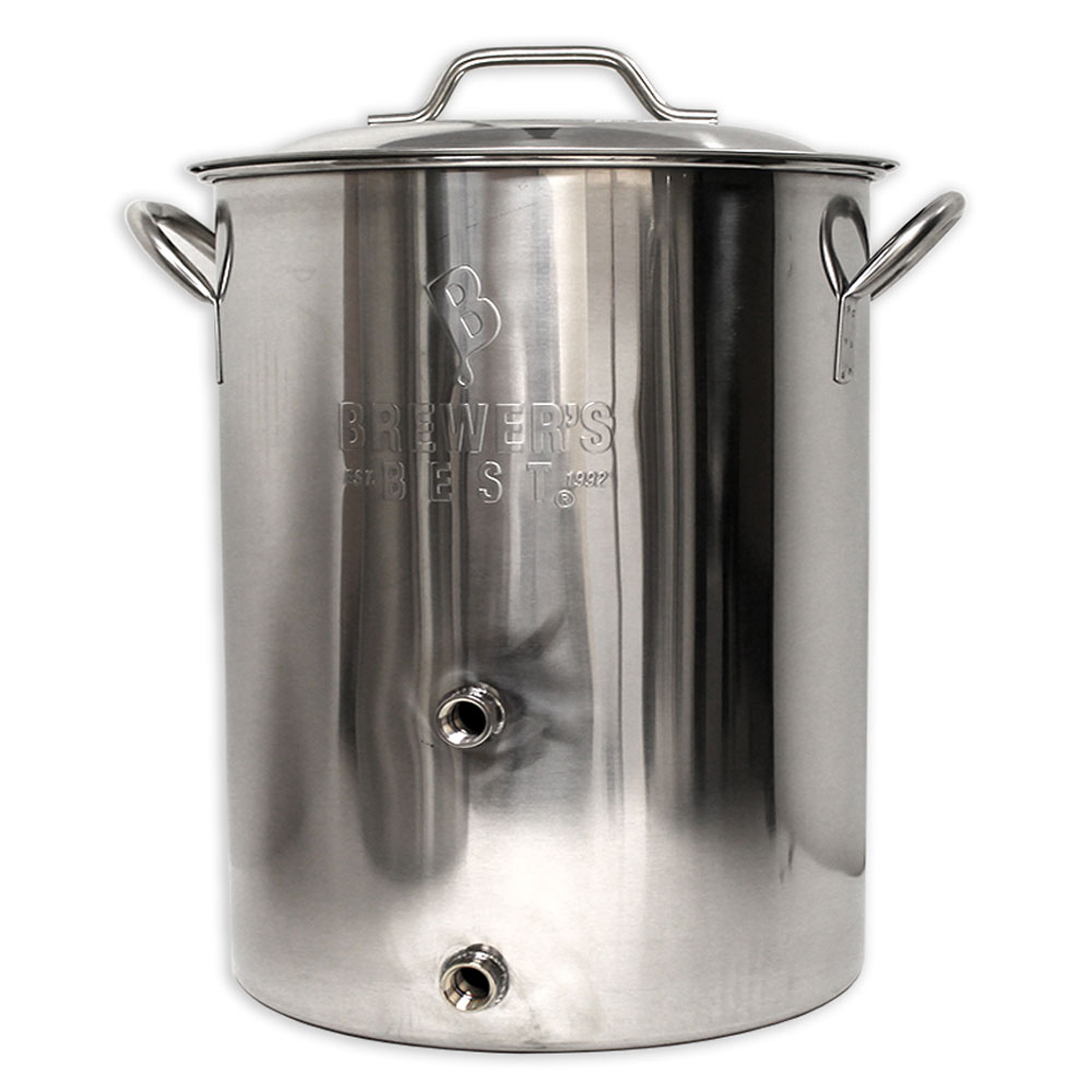 16 Gallon Stainless Steel Brew Pot