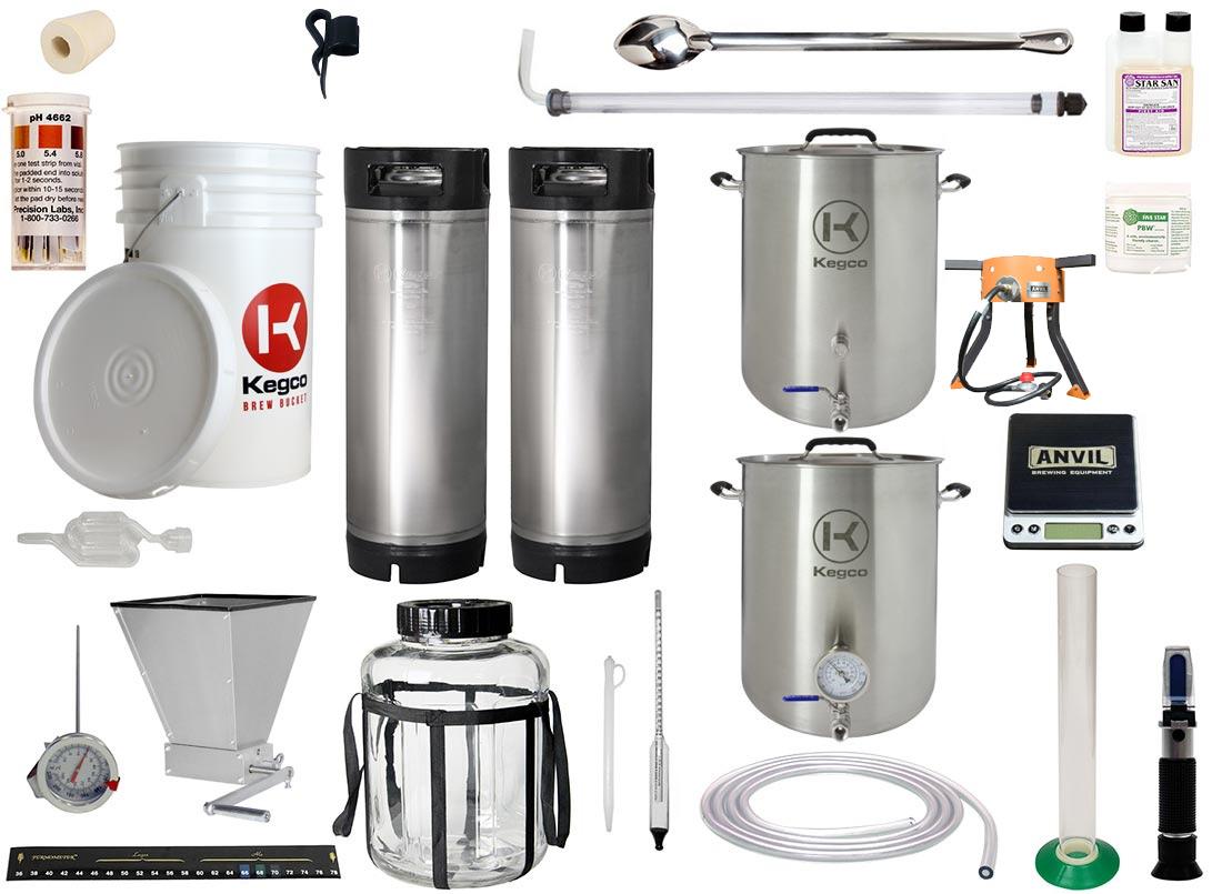 5 Gallon All Grain Home Brewing Kit | BeverageFactory.com