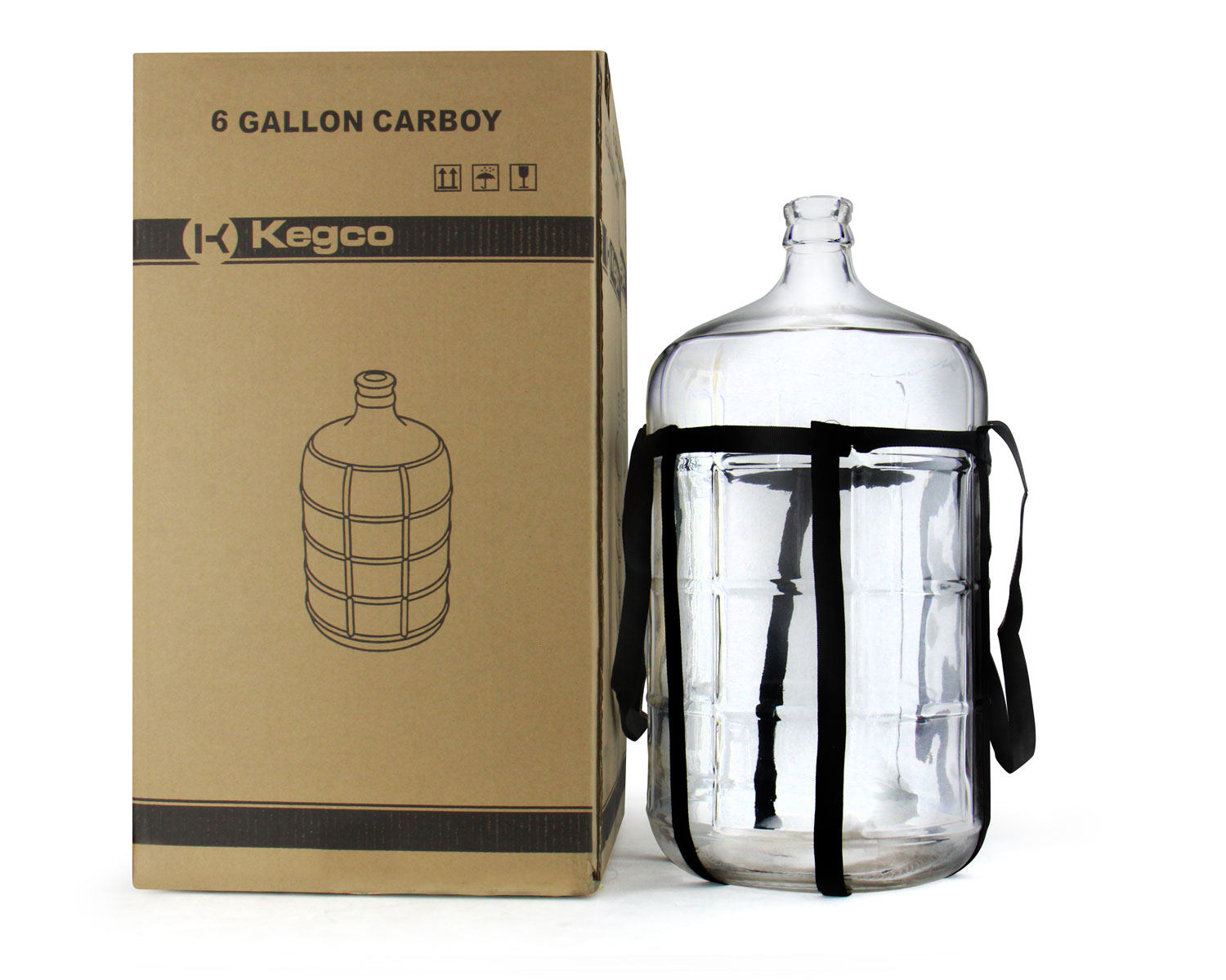 6gl Carboy With Packaging