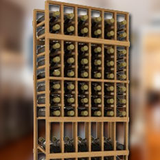 Allavino 7 Tall Wine Cellar Wine Rack Kits