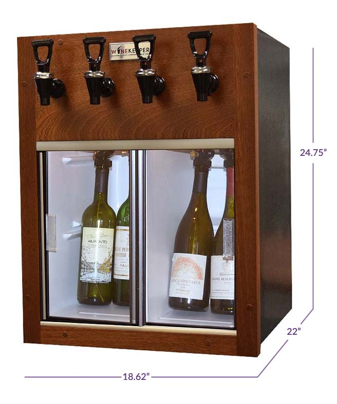 Winekeeper 7755 Napa 4 Bottle Wine Dispenser