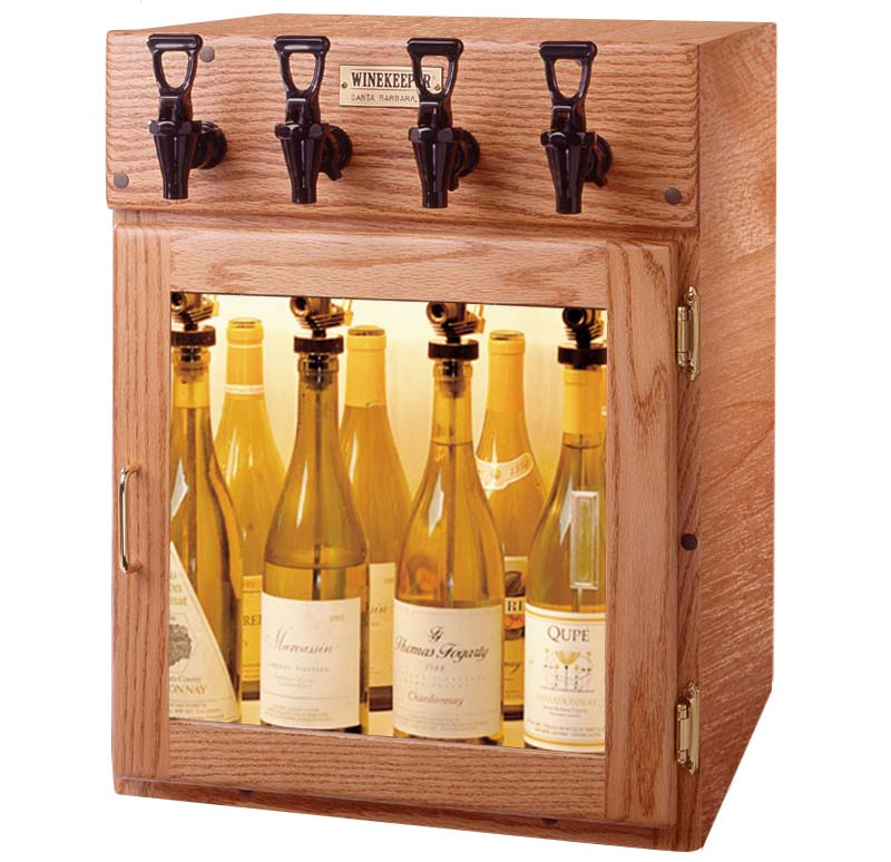 Winekeeper 9307 Sonoma 4 Bottle Wine Dispenser