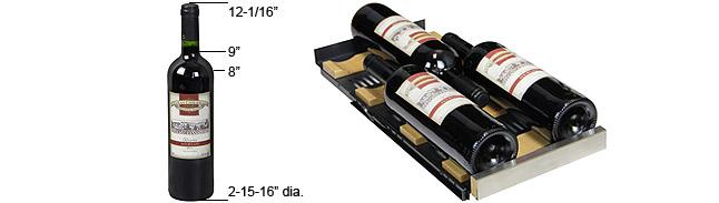Tall bottle configuration
