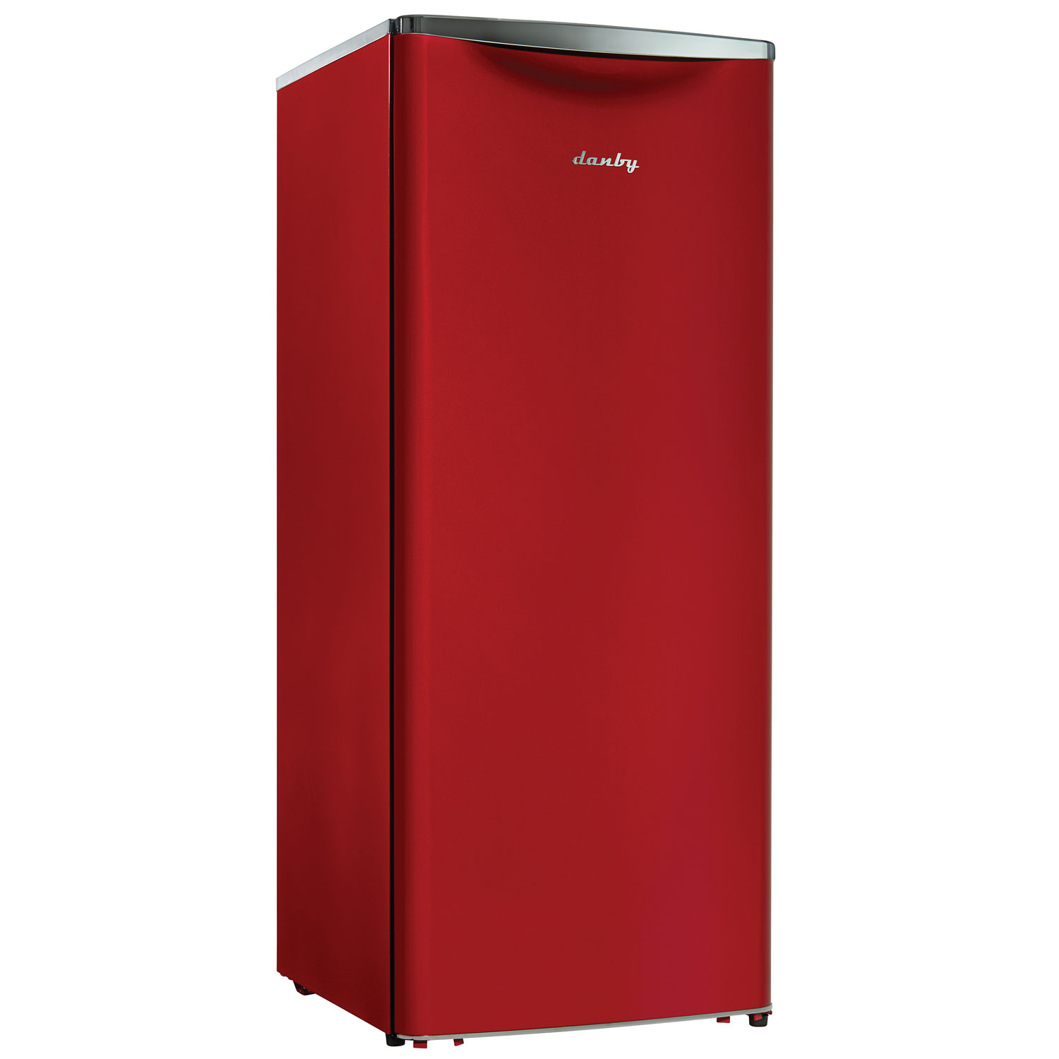11 Cu. Ft. Frost Free Contemporary Classic All-Refrigerator - Red