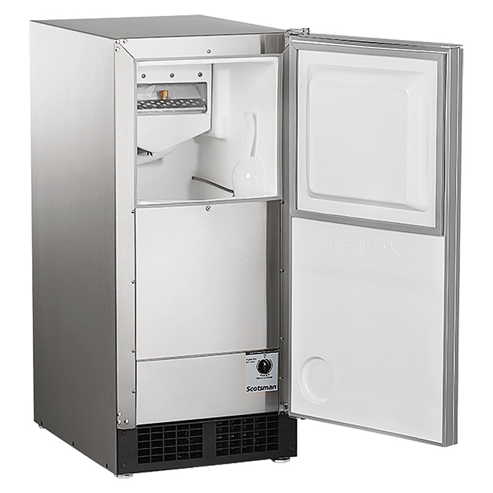 Scotsman Dce33pa 1ssd Built In Ice Maker With Drain Pump Beveragefactory Com