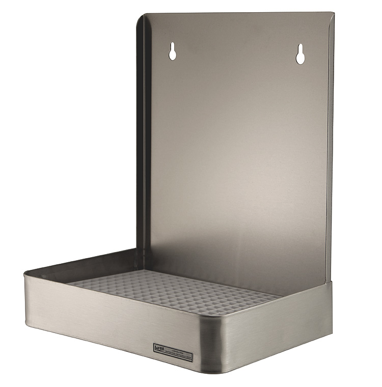 Dd 512 Po 12 Quot Wall Mount Stainless Steel Drip Tray W