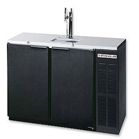 Two Keg Commercial Kegerator - Black Vinyl