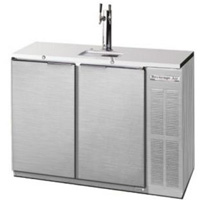 Two Keg Commercial Kegerator - Stainless Steel