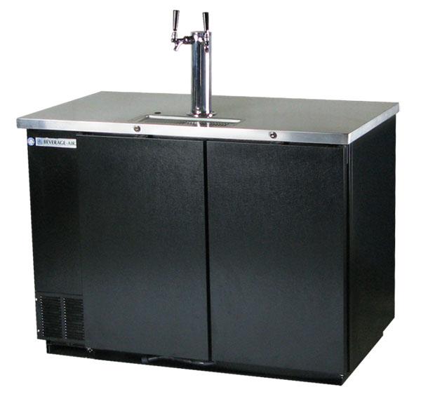 Beverage Air Kegerator Dd50 Two Keg Commercial Beer Cooler