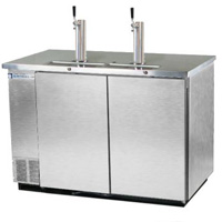 Kegerator Commercial 3-Keg Beer Cooler - Stainless Steel