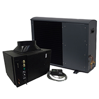 1/4 Ton 3,000 BTU Split System Wine Cooling Unit