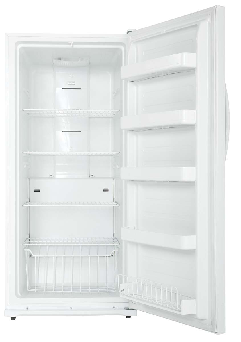 Designer 13 8 Cu Ft White Upright Freezer