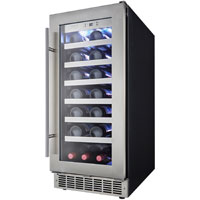 Silhouette Professional Tuscany 28 Bottle Built-In Wine Cooler