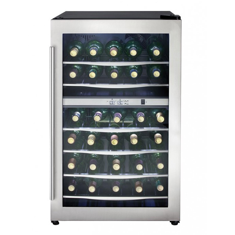 Danby Dwc040a3bssdd 38 Bottle Dual Zone Wine Refrigerator