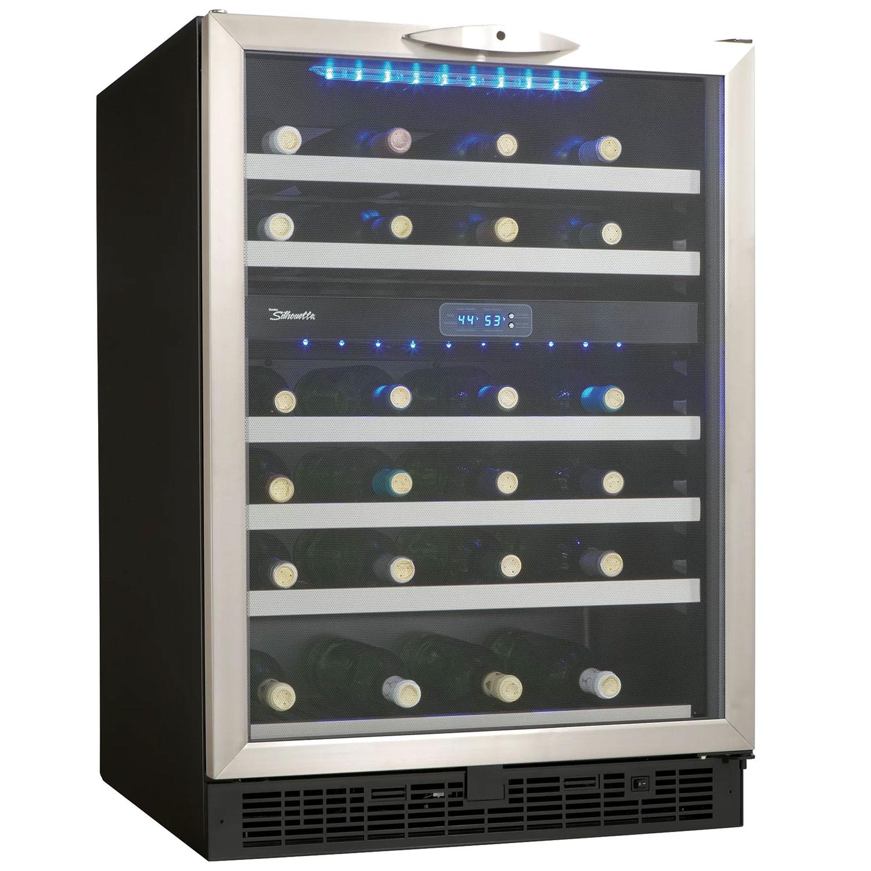 Danby Silhouette Stilton Dwc518bls 51 Bottle Built In Wine