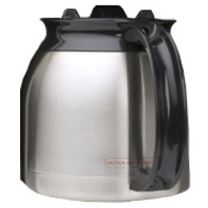 3 Photo of Brew Express 10 Cup Thermal Carafe - Stainless Steel with Black Handle