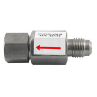 Disconnect Check Valve, 1/4' MFL X 1/4