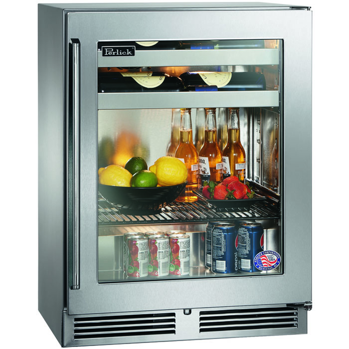 Perlick Hh24bs 3 3r 18 Depth Signature Series Sottile Beverage
