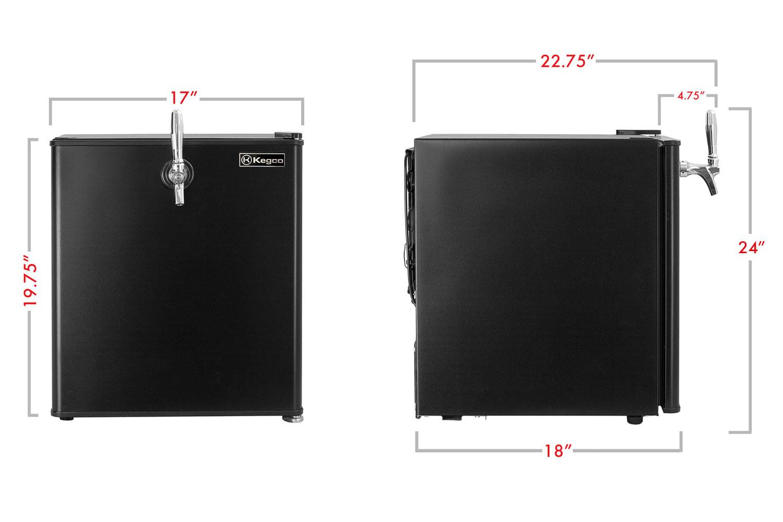 Kegco Hk 46 Db Single Tap Digital Draft Beer Mini