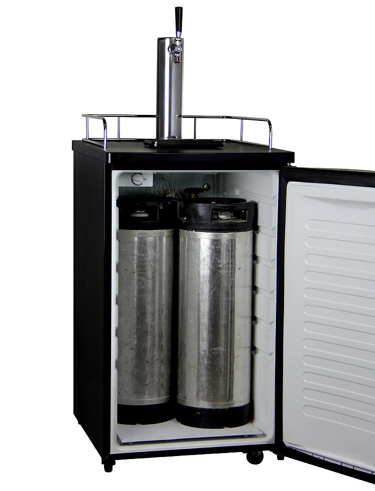Kegco Ick19b 1nk Javarator Iced Coffee Keg Dispenser