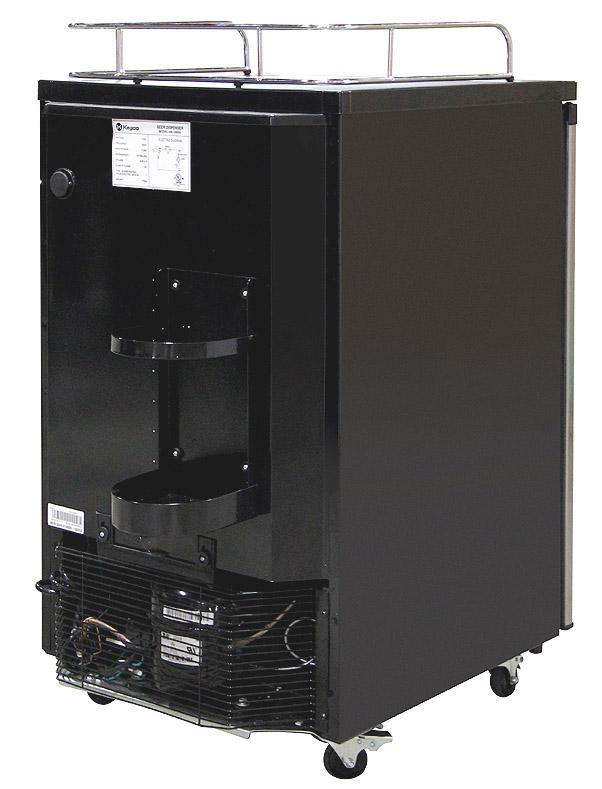 Kegco K199ss 01 Kegerator Cabinet Only With Black Cabinet