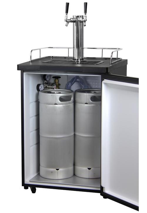 Kegco K209ss 2nk Two Keg Tap Faucet Full Size Keg