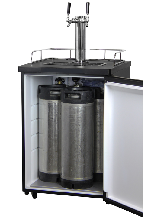 Kegco Kom20s 1nk Kombucha Keg Cooler Dispenser