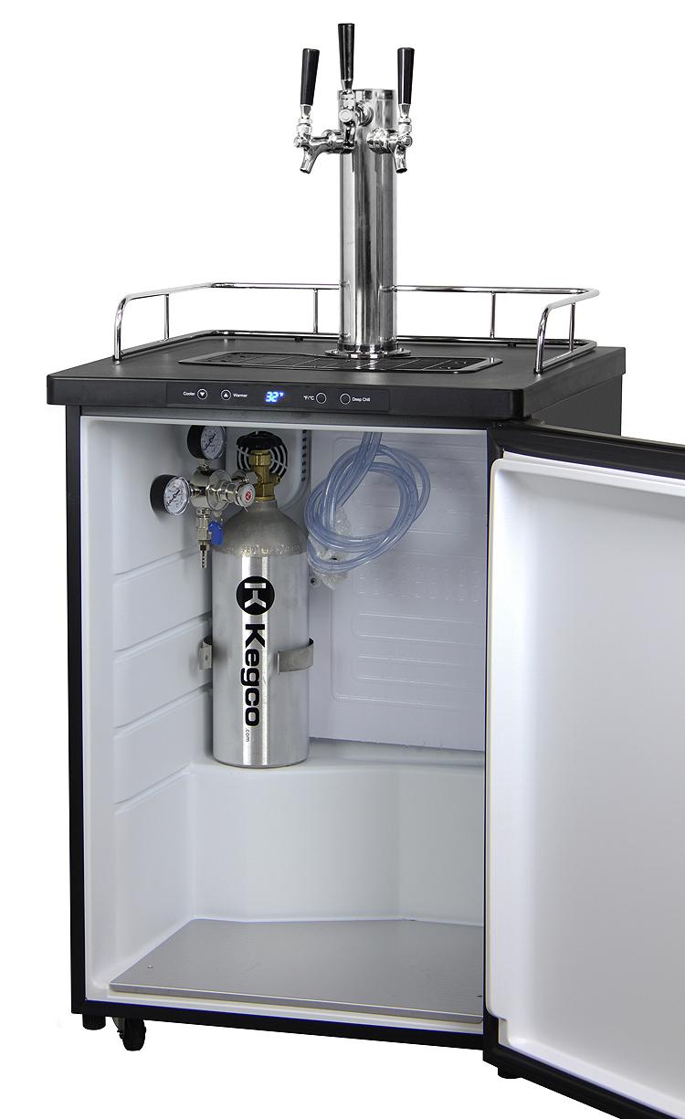 Kegco K309ss 3nk Triple Three Tap Keg Beer Dispensers